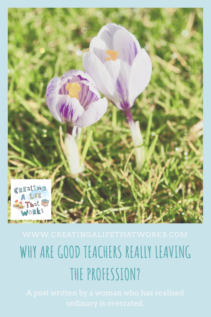 Why Are Good Teachers Really Leaving The Profession?